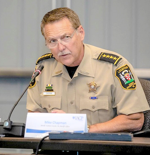 Sheriff Mike Chapman is considering running for governor of Virginia