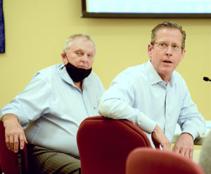 Chuck Kuhn and Hobie Mitchell present on Warner Brook project