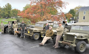 Veterans and Military Vehicle enthusiasts have a tour