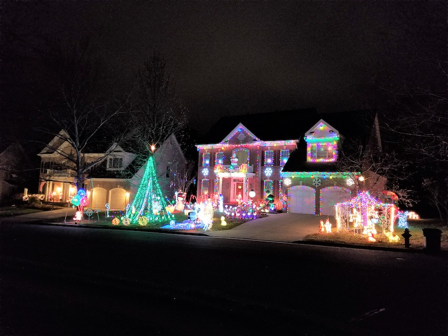 Holiday Lights in Loudoun County