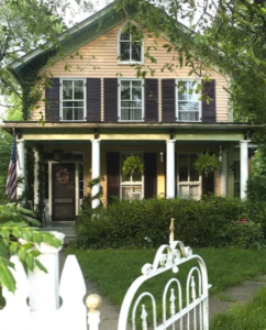 A typical home in historic Lincoln